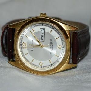 Classy Armitron GT Calendar Watch w/ Speidel Band